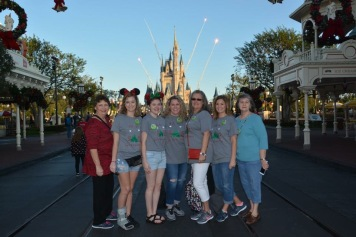 Jenna Fortner - Picture taken 12/26/17 We had a girls only day at MK while the guys went to Universal. I love this one because the photographer knew when the fireworks were going to go off during the Welcome Show and got us ready for it. Love that!!